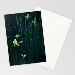 sunlit leaves Stationery Cards