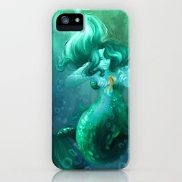 Big Fish and Little Fish iPhone Case
