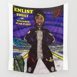 Enlist Today Wall Tapestry