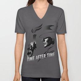 Time after Time Unisex V-Neck