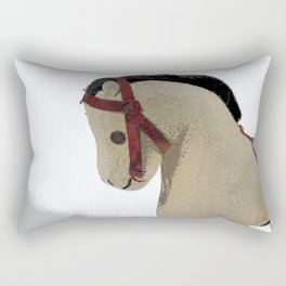 The Old Toy Horse Rectangular Pillow