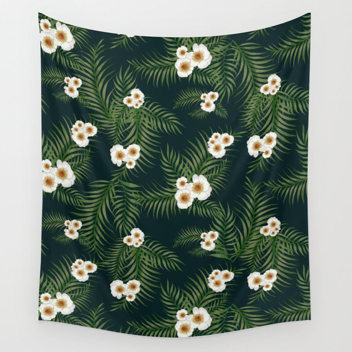 Gloomy Jungle Pattern #society6 #decor #buyart Wall Tapestry