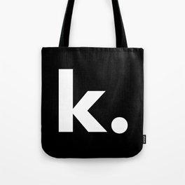 lowercase_k. Tote Bag