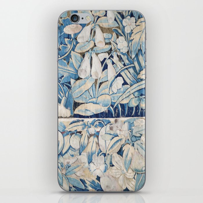 Blue Tapestry iPhone Skin