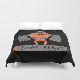 Bear Hands Duvet Cover