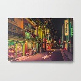Deserted Japan Street/ Anthony Presley Photo Print Metal Print