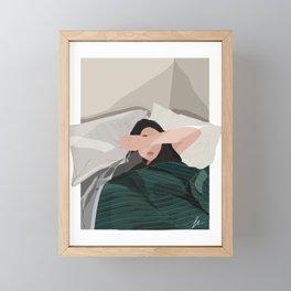 Lazy Morning Framed Mini Art Print