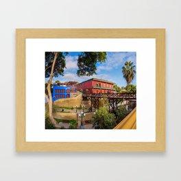Juana Land 2 Framed Art Print