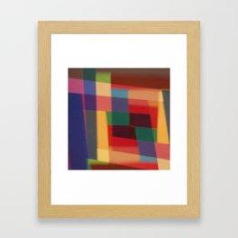 Colored blur background 5 Framed Art Print