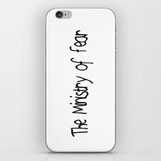 The Ministry of Fear iPhone Skin