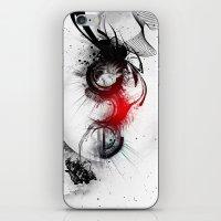 women iPhone & iPod Skins featuring women by  MuDi
