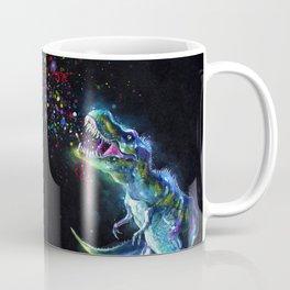 Crystal T-Rex in Space Coffee Mug