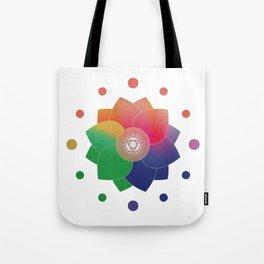 Harmony - Ayurveda Clock Tote Bag