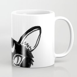 Lunar Cat Coffee Mug