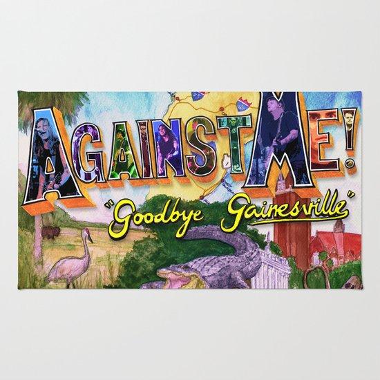 """Goodbye Gainesville"" by Cap Blackard Rug"