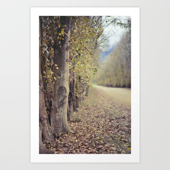 Autumn whisper Art Print