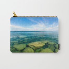Lake Superior Rock Paradise Carry-All Pouch