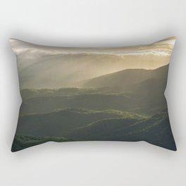 Sunrise in North Georgia Mountains 4 Rectangular Pillow