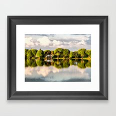 After rain Framed Art Print