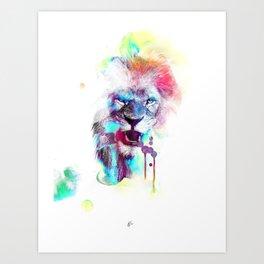 LionColour Art Print