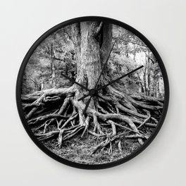 Tree of Life and Limb Wall Clock