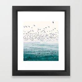 Birds Reflected Fine Art Print Framed Art Print