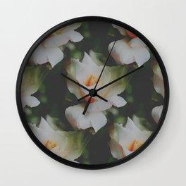 Rose Vintage Pattern Wall Clock