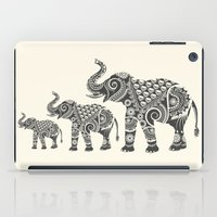 ornate elephant iPad Cases featuring Elephant by famenxt