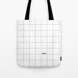 Pie Cooling on the Windowpane Pattern Tote Bag