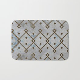 Southwestern Tribal Design Pattern Bath Mat