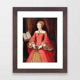 The Blood countess - Elizabeth Bathory Framed Art Print