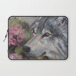 The Grey Wolf Laptop Sleeve