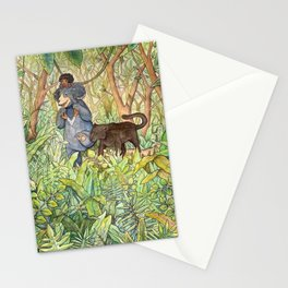 A Walk with Friends Stationery Cards