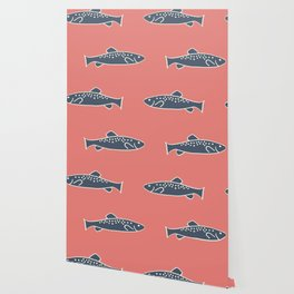 Swimming with the Fishies Wallpaper