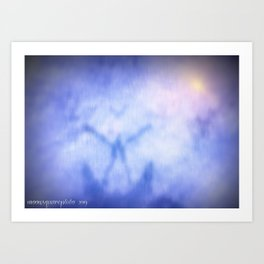 To Merge With Source Art Print