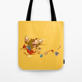 Bear & Bird Tote Bag