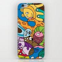 safari iPhone & iPod Skins featuring Safari by Chris Piascik
