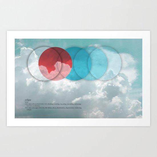 eclipse Art Print