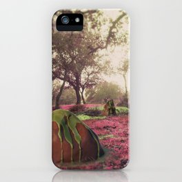 Pink view  iPhone Case