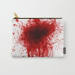 Blood Splatter Realistic Carry-All Pouch