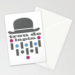 trou de lapin Stationery Cards