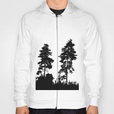pine trees Hoody