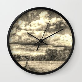 A Vintage Farm Wall Clock
