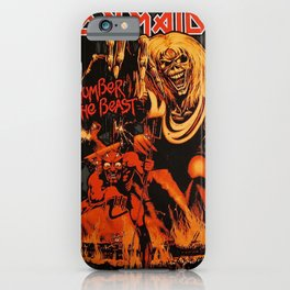 iron maiden album 2021 dede11 iPhone Case