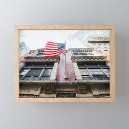 New York City 76 Framed Mini Art Print