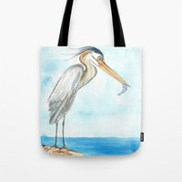 harry Tote Bags featuring Harry by Catherine Holcombe