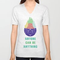 Zootopia - Anyone Can Do Anything Unisex V-Neck