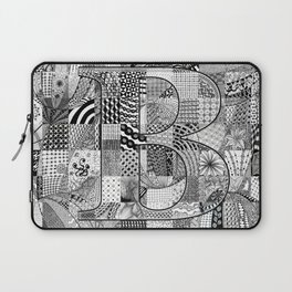 The Letter B Laptop Sleeve