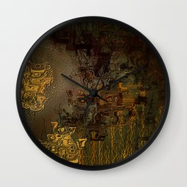 Swollen Years of Time Wall Clock