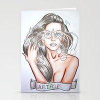 artpop Stationery Cards featuring ARTPOP by  Can Encin